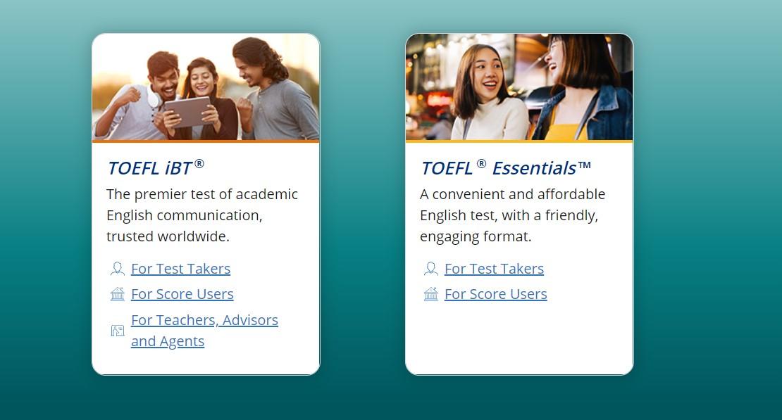 TOEFL IBT Adalah